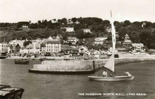 North Wall, The Harbour, Lyme Regis