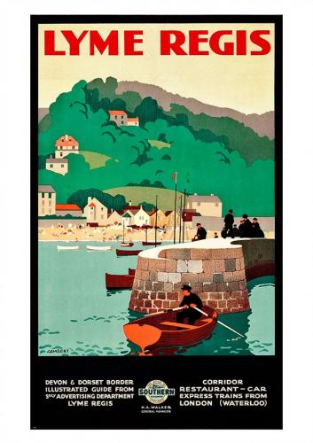 Vintage Southern Railways poster