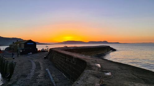 Sunrise over the Cobb